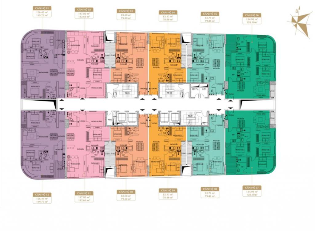 Chung cư Imperia Plaza 360 Giải Phóng - MB tòa IP1