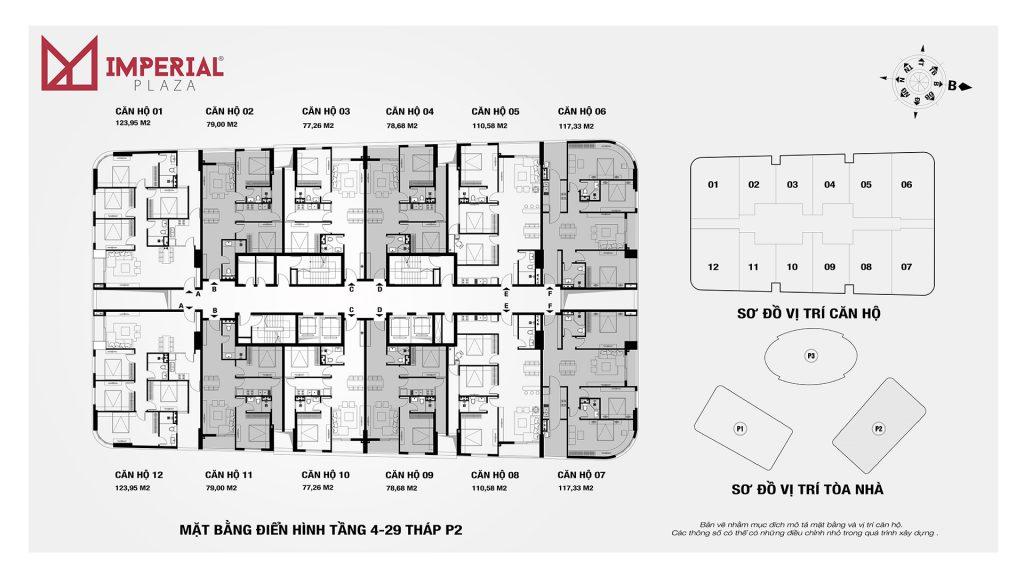 Chung cư Imperia Plaza 360 Giải Phóng - MB tòa IP2