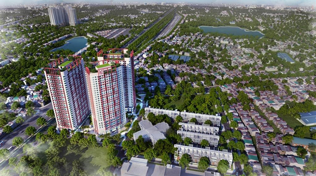 Chung cư Imperia Plaza 360 Giải Phóng - Phối cảnh dự án