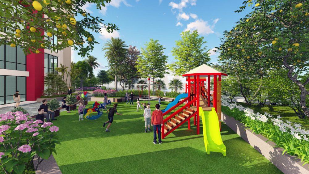 Chung cư Imperia Plaza 360 Giải Phóng - Sân chơi trẻ em