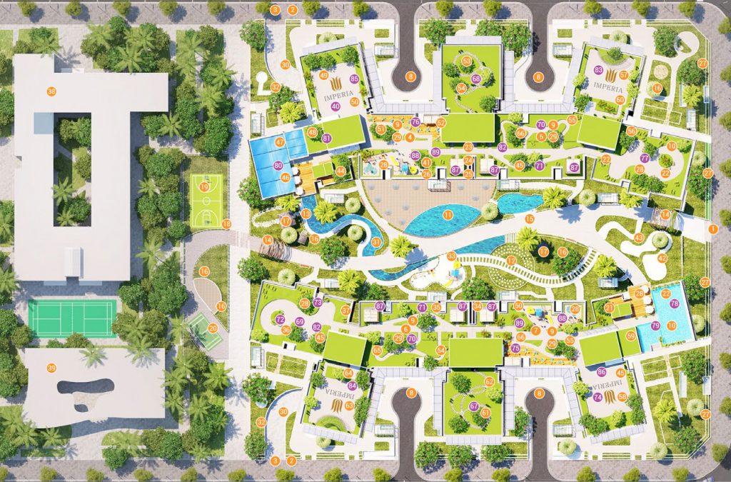 Chung cư Imperia Sky Garden - 89 tiện ích cao cấp