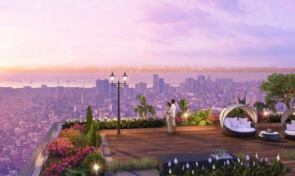 Chung cư Imperia Sky Garden - Lầu vọng cảnh