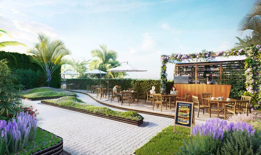 Chung cư Imperia Sky Garden - Sky bar