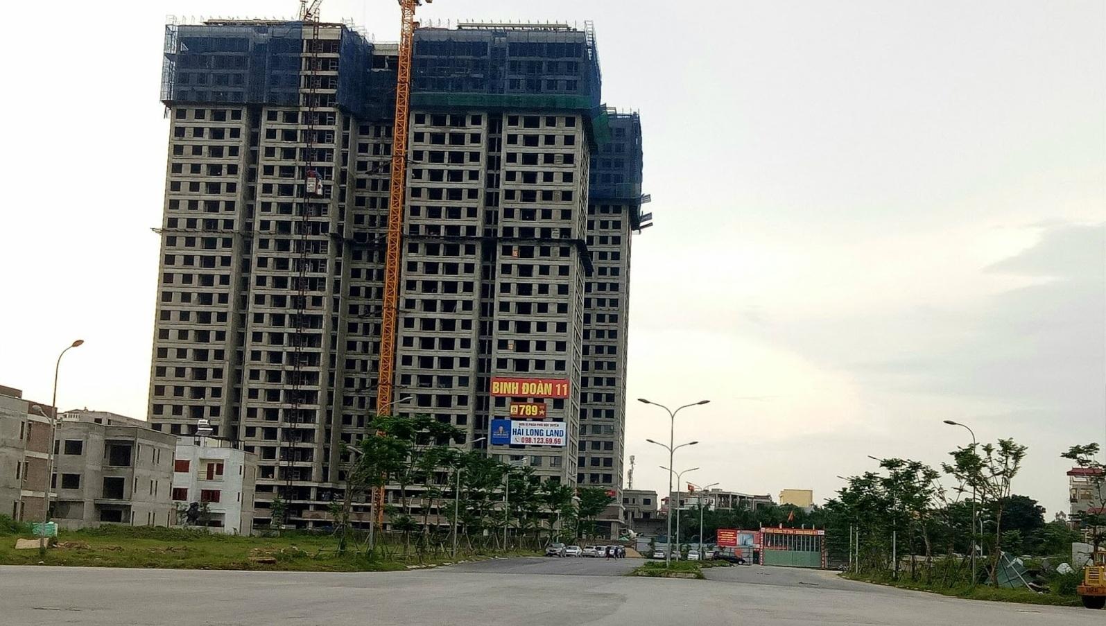 Chung cư 789 Xuân Đỉnh - Tiến độ dự án T8-2017