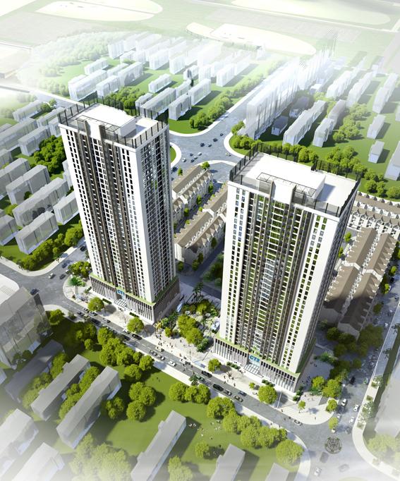 Chung cư A10 Nam Trung Yên - Phối cảnh dự án