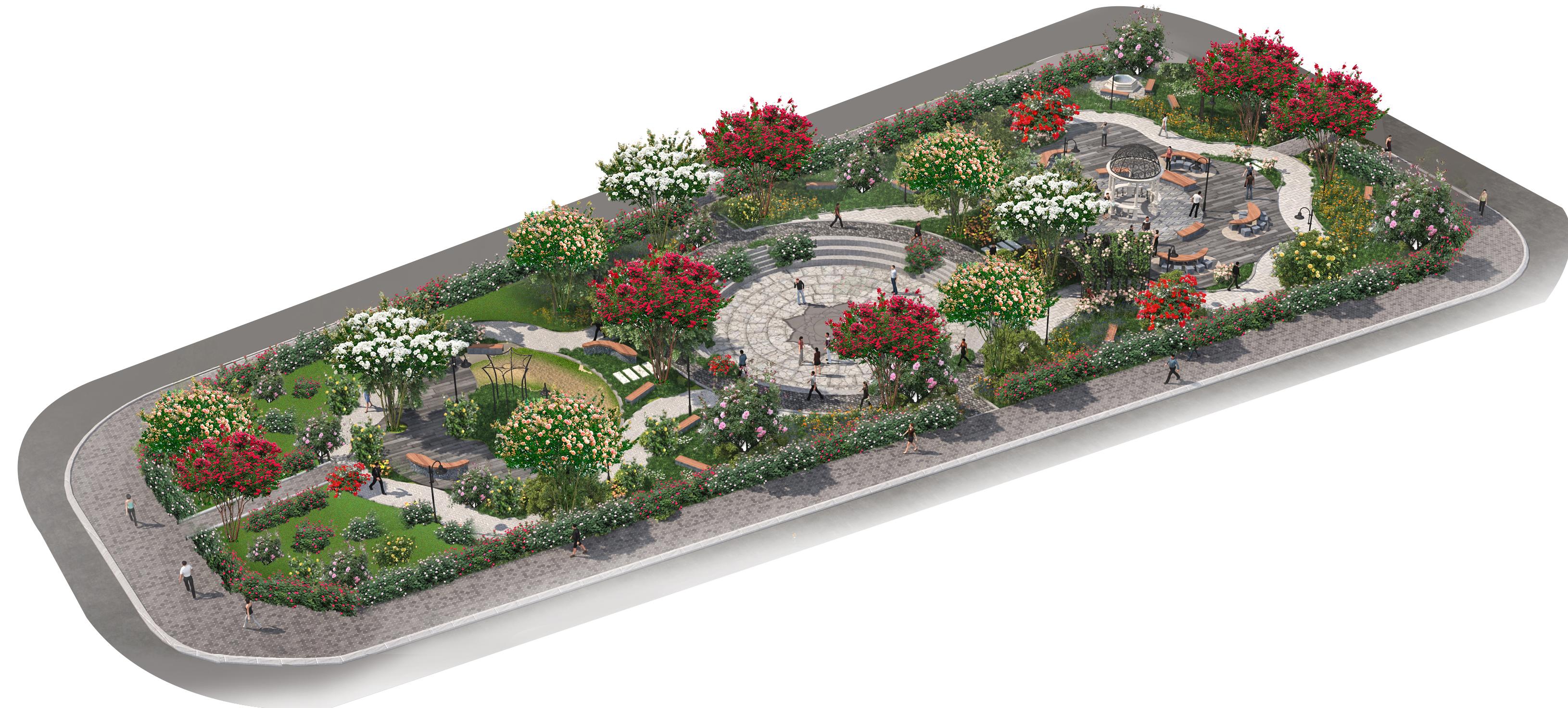 Biệt thự liền kề The Eden Rose Thanh Trì - Khu công viên