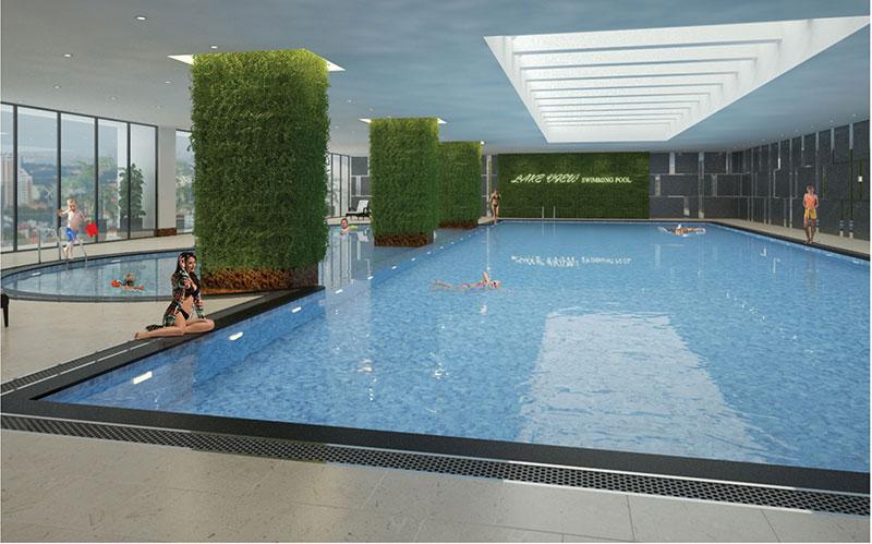 Nhà ở xã hội Bộ Công An Cổ Nhuế 2 - Bể Bơi