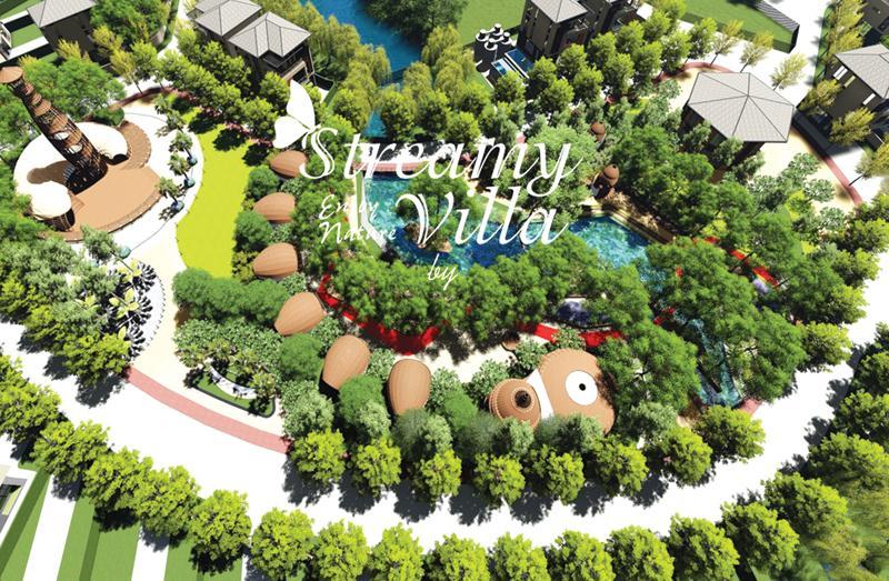 Royal Streamy Villas Phú Quốc - Bể bơi ngoài trời