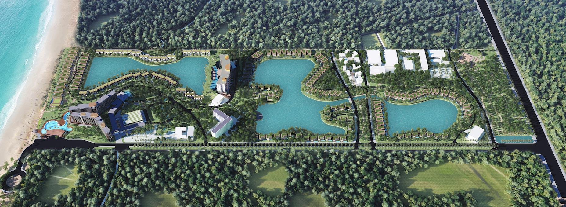 Movenpick Resort Waverly Phú Quốc - Phối Cảnh Mặt Bằng Dự Án