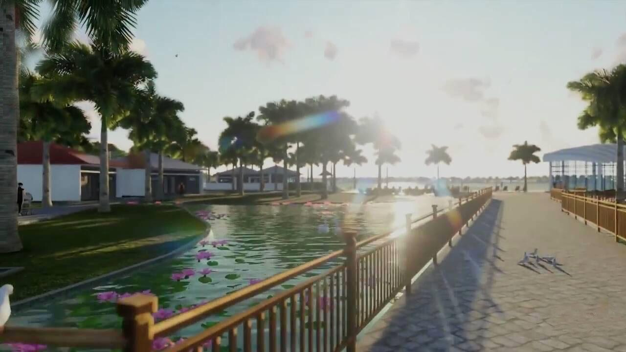 Ocean Lotus Island - Hồ Cảnh Quan