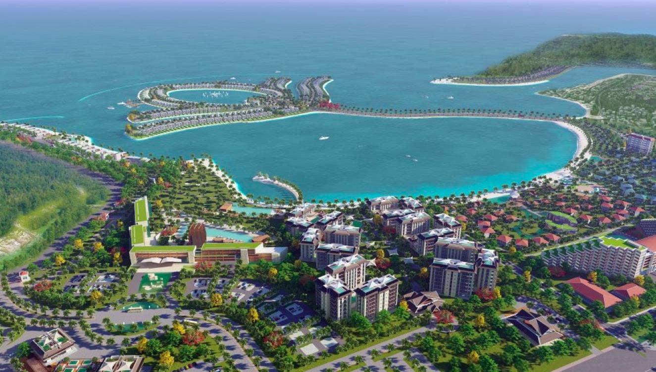 Ocean Lotus Island - Mặt Bằng Tổng Thể Dự Án