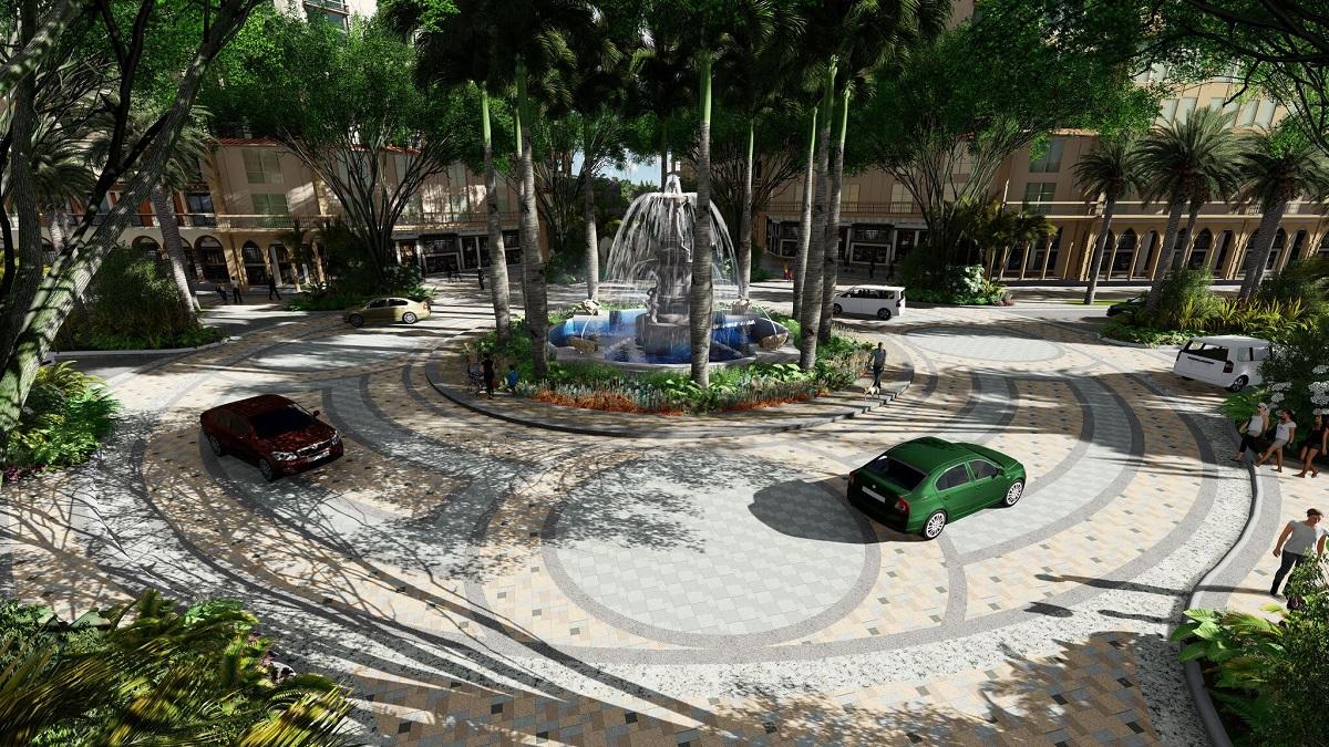 Phú Quốc Marina Square - Đài Phun Nước