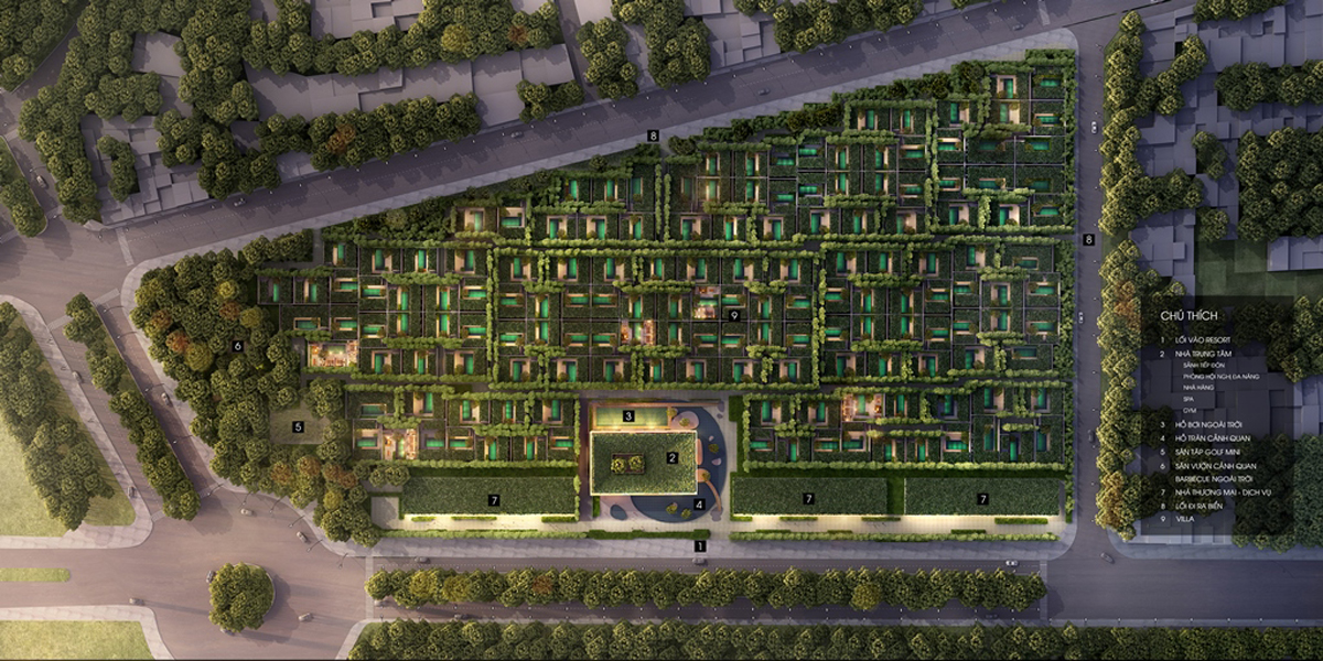 Wyndham Garden Phú Quốc - Mặt Bằng Tổng Thế