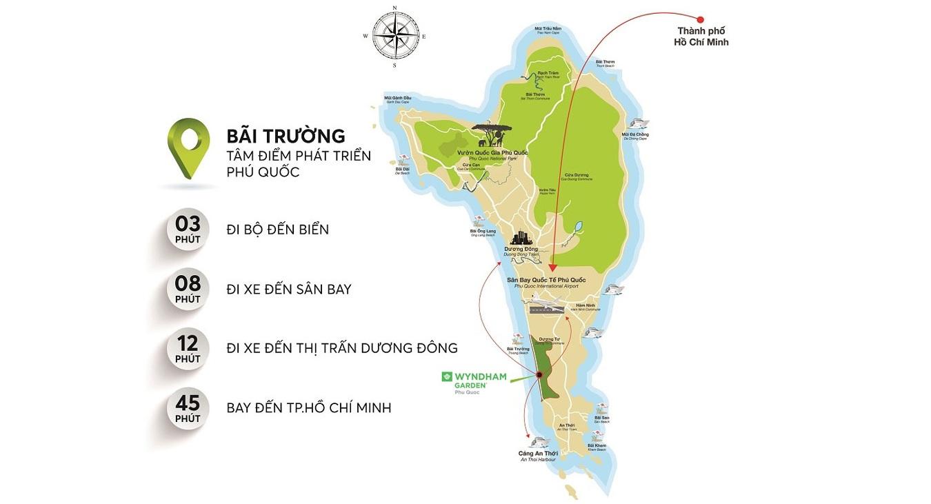 Wyndham Garden Phú Quốc - Vị Trí Dự Án