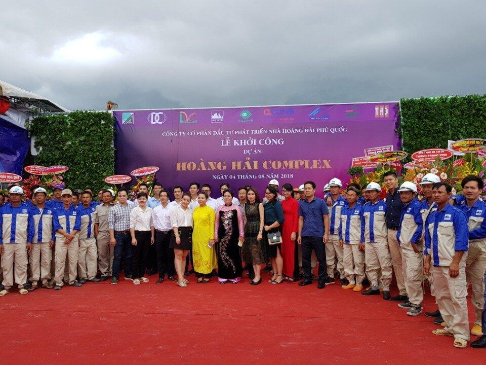 Hoàng Hải Complex Phú Quốc - Lễ khởi công dự án T8-2018