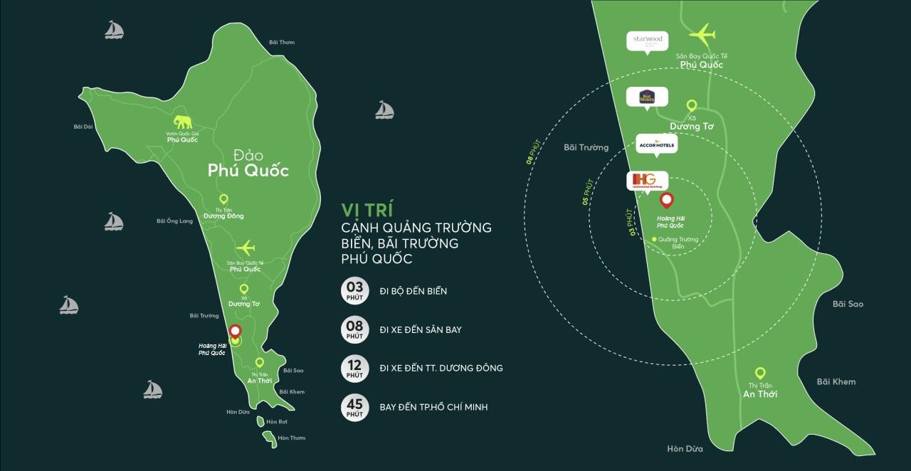 Hoàng Hải Complex Phú Quốc - Liên kết vùng