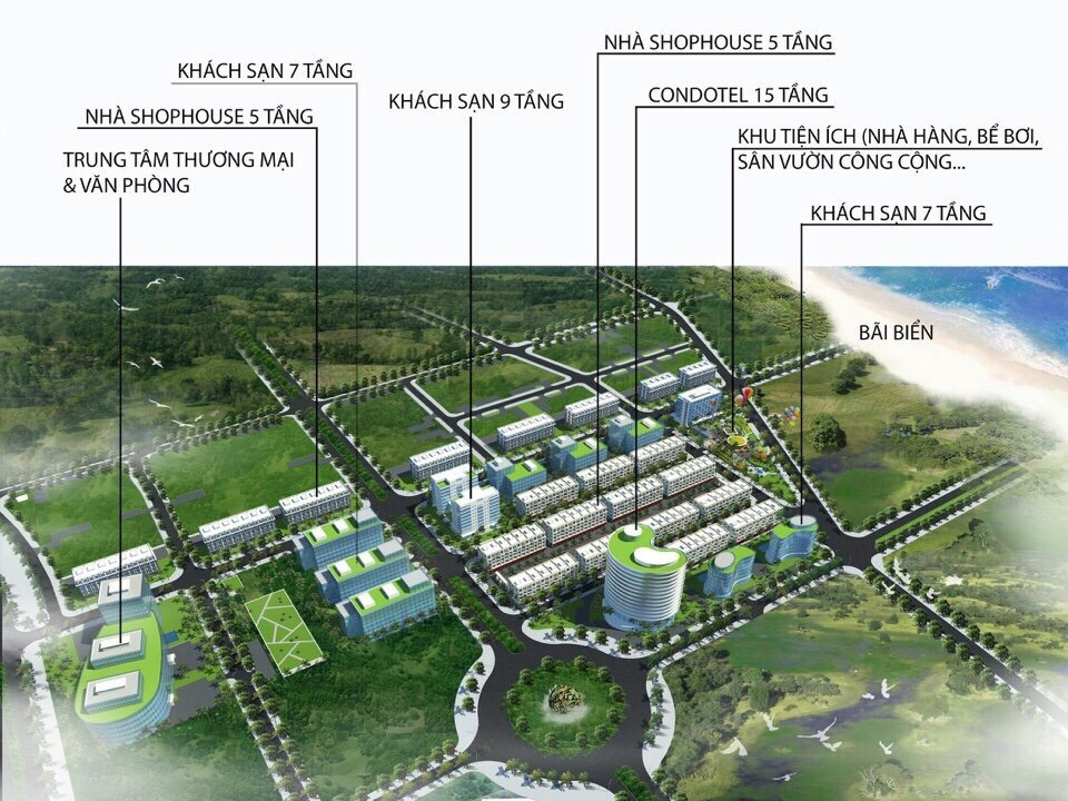 Hoàng Hải Complex Phú Quốc - Phối cảnh dự án