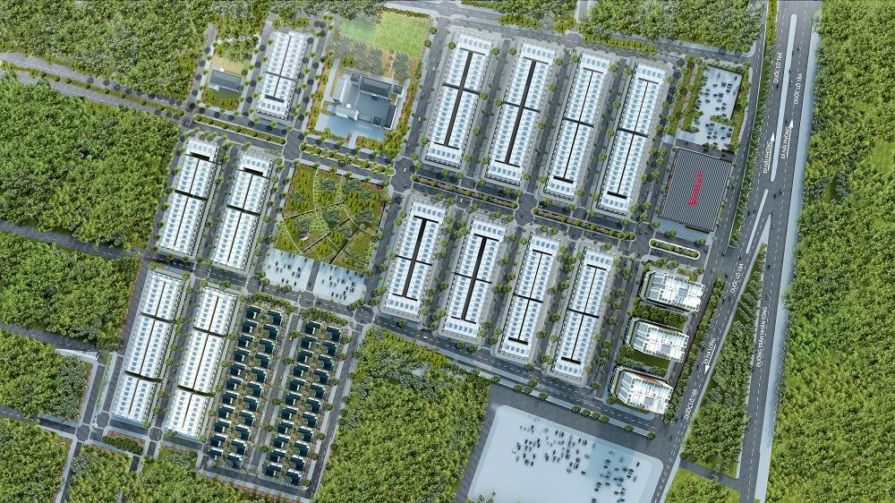 Uông Bí New City - Mặt Bằng Tổng Thể