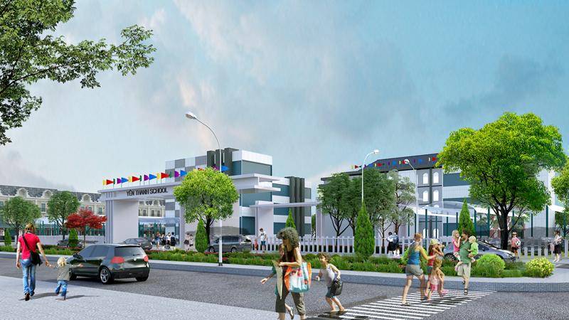 Uông Bí New City - Trường Học