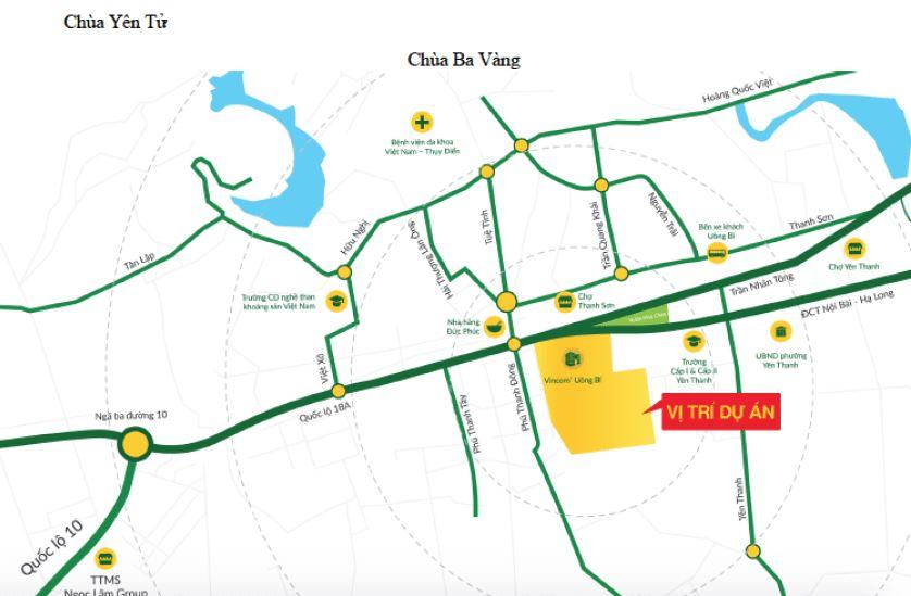 Uông Bí New City - Vị Trí Dự Án