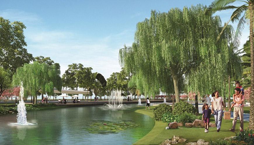 Khu đô thị An Lạc Green Symphony - Hồ Điều Hòa