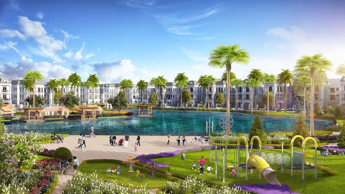 Khu đô thị Kosy Bắc Giang - Hồ Nước Công Viên