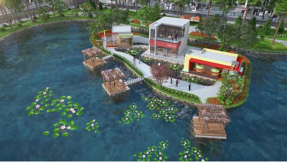 Khu đô thị Kosy Bắc Giang - Nhà hàng cà phê