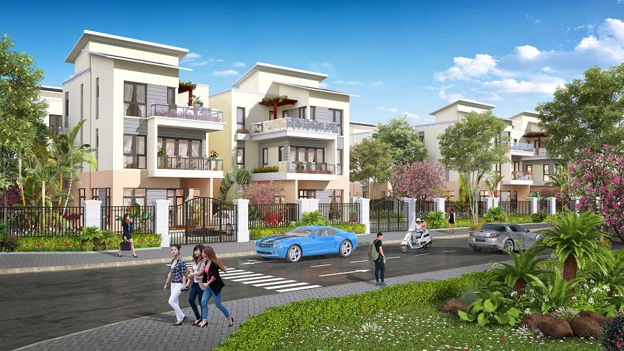 Khu đô thị Kosy Bắc Giang - Phối Cảnh Biệt Thự