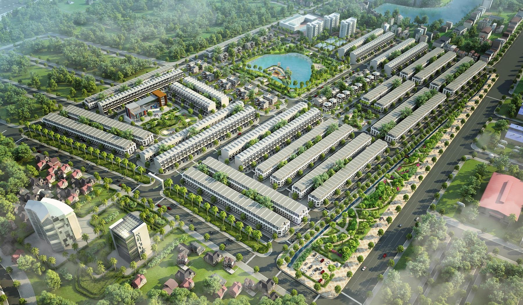 Khu đô thị Kosy Bắc Giang - Phối Cảnh Tổng Thể - QUANG THẮNG LAND -  092-689-3689