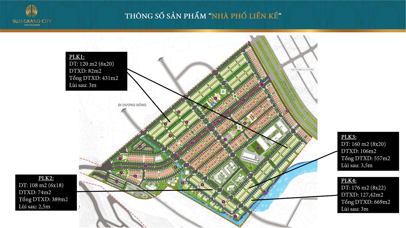 Khu đô thị Sun Grand City New An Thới Phú Quốc - Nhà Liền Kề