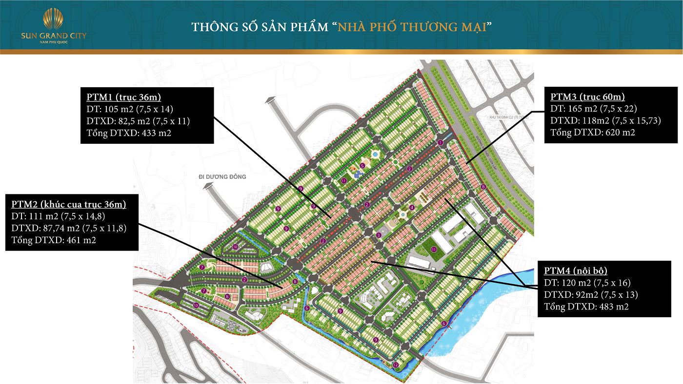 Khu đô thị Sun Grand City New An Thới Phú Quốc - Nhà Phố Thương Mại