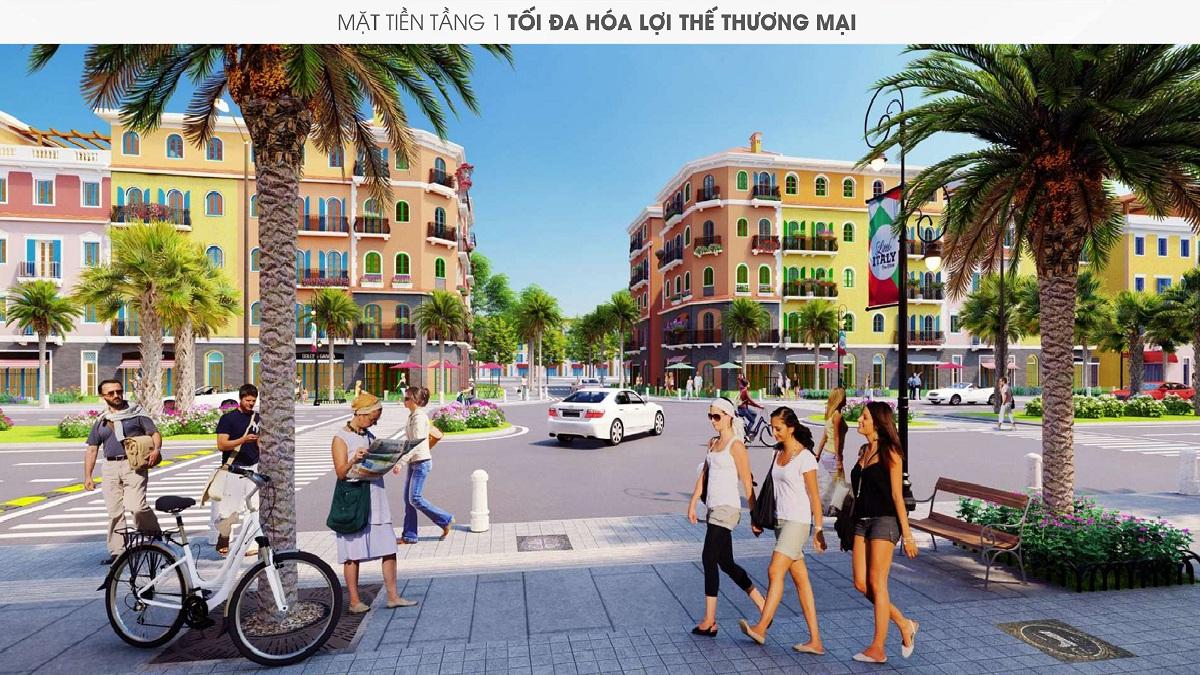 Khu đô thị Sun Grand City New An Thới Phú Quốc - Phối Cảnh Nhà Phố Thương Mại