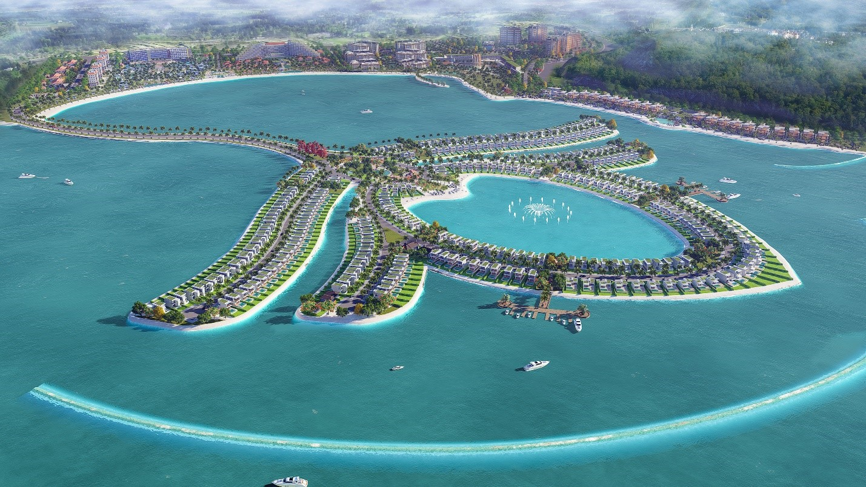 Dự án Ocean Lotus Island (Phú Quốc) do TTC Land phát triển sẽ sử dụng vật liệu xây dựng từ nhựa tái chế do liên doanh Upp! UpCycling Plastic & Toàn Hải Vân sản xuất.