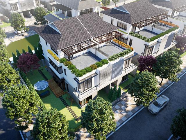 Khu đô thị Eco Garden Huế - Biệt Thự Song Lập