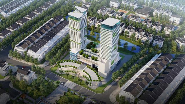 Khu đô thị Eco Garden Huế - Khách Sạn