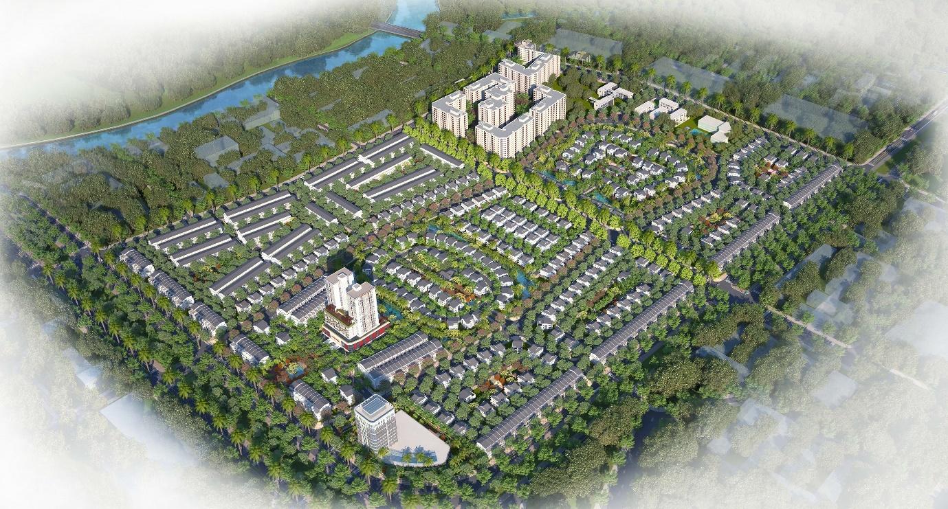 Khu đô thị Eco Garden Huế - Phối Cảnh Dự Án