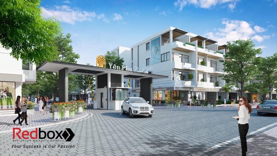 Khu đô thị Yên Phụ Newlife Bắc Ninh - Cổng vào dự án