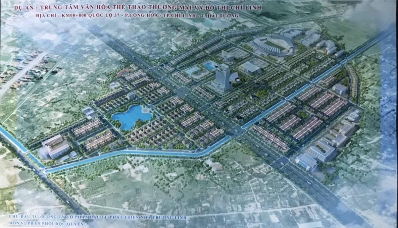 Khu đô thị Trường Linh Chí Linh Palm City - Phối Cảnh Dự Án