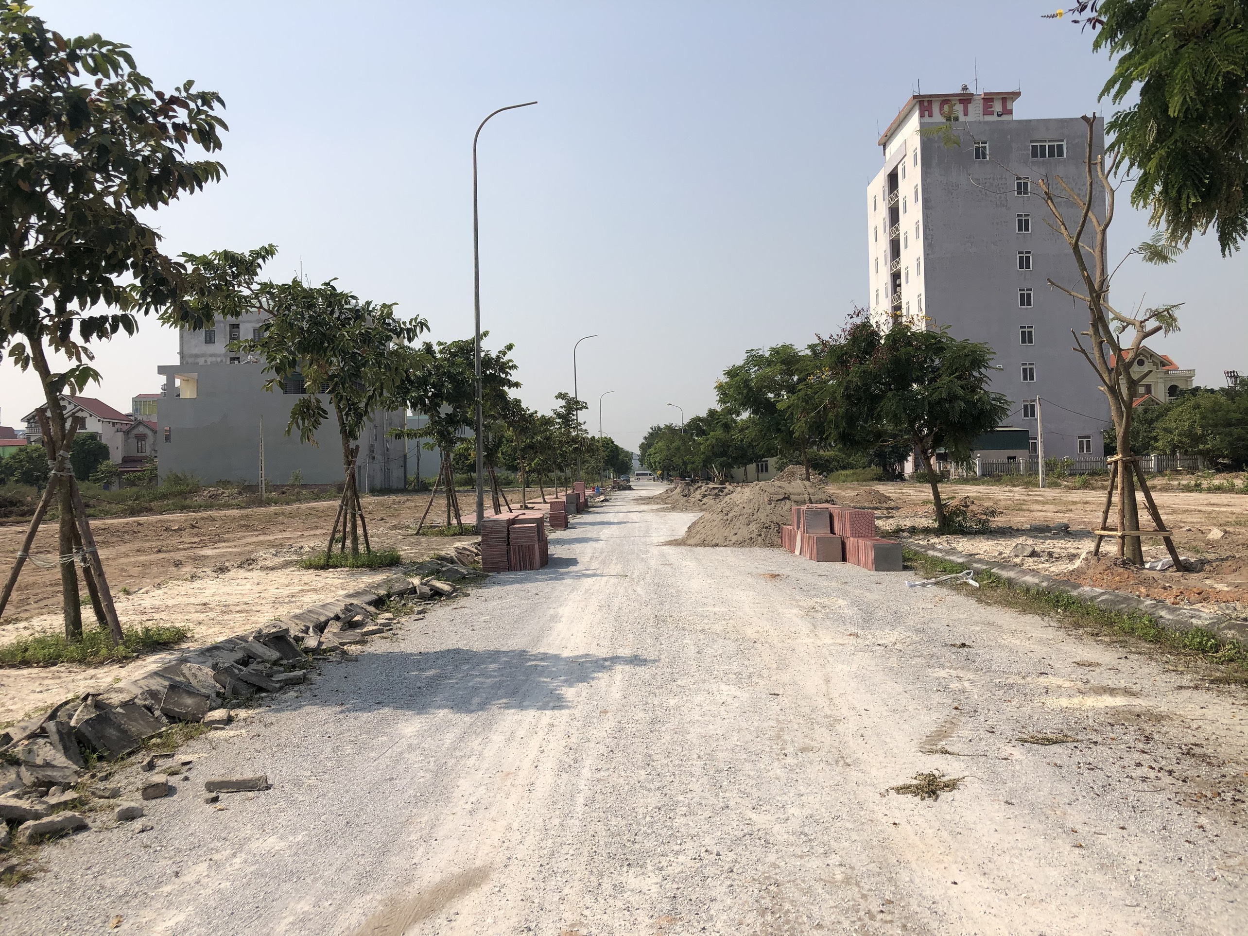 Khu đô thị Trường Linh Chí Linh Palm City - Thực Tế Dự Án Tháng 11-2019 1