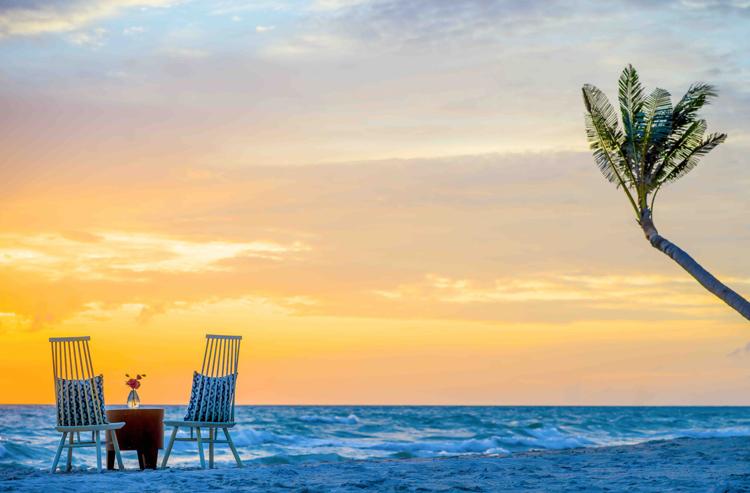 Du khách sẽ có những trải nghiệm đáng nhớ khi ngắm hoàng hôn ngay tại Sea Shack.