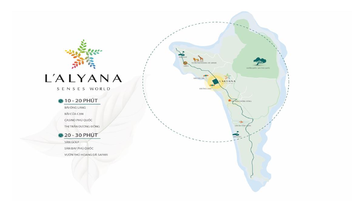 L'Alyana Senses World - Vị Trí Dự Án