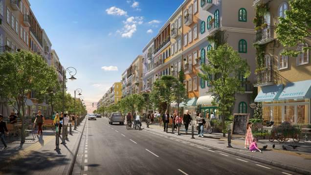 Nhà phố tại Sun Grand City New An Thoi thu hút sự chú ý của nhà đầu tư