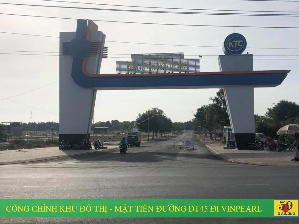 Cổng vào dự án Khu đô thị mới Bắc Dương Đông 67ha Phú Quốc
