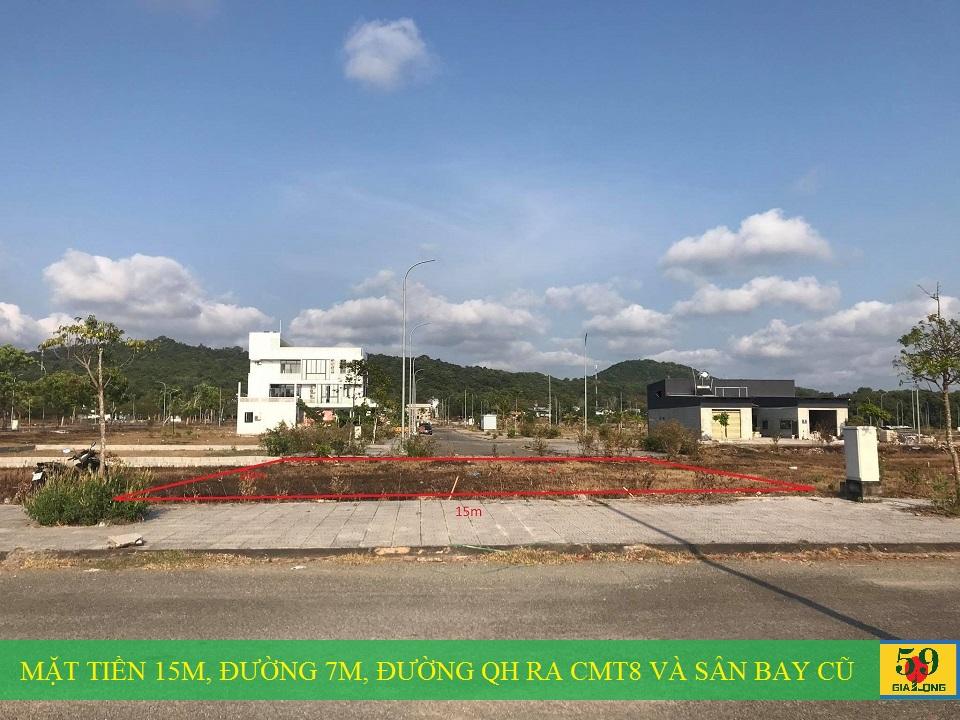 Thực tế lô biệt thự E1-16 dự án Khu đô thị mới Bắc Dương Đông 67ha Phú Quốc