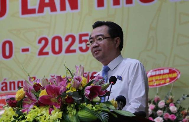 Ông Nguyễn Thanh Nghị, Uỷ viên Trung ương Đảng, Bí thư Tỉnh uỷ Kiên Giang đến dự và phát biểu chỉ đạo đại hội