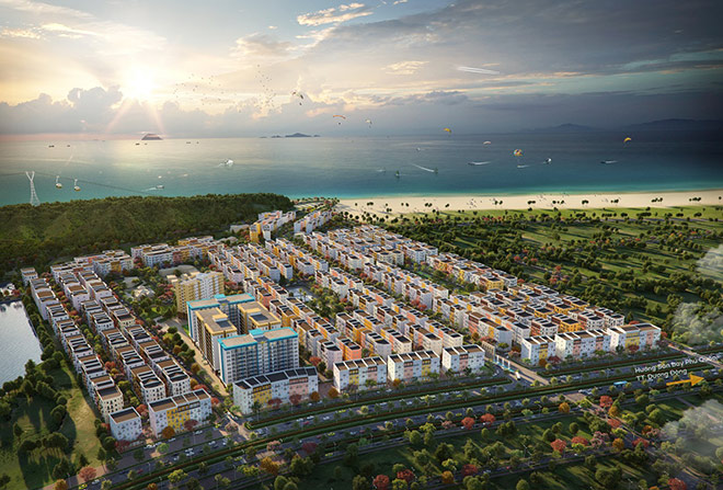 Vị trí chiến lược của Sun Grand City New An Thoi