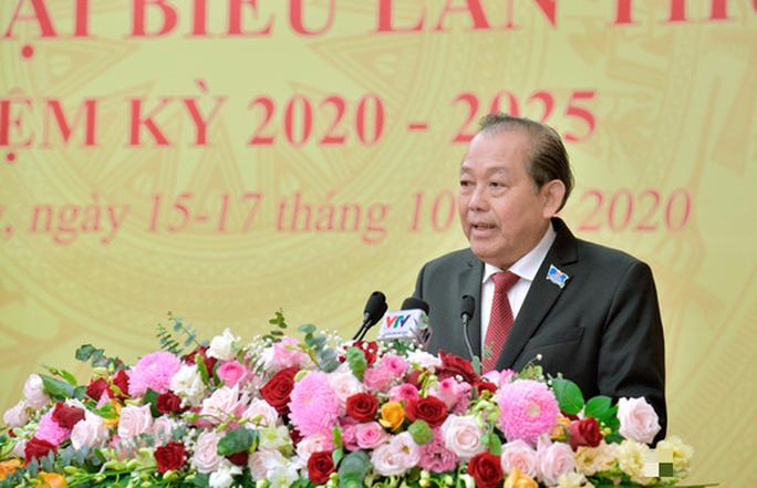 Phó Thủ tướng Thường trực Chính phủ phát biểu chỉ đạo tại Đại hội