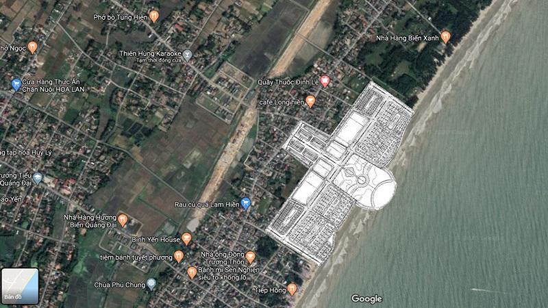 Vlasta Sầm Sơn - Vị Trí Dự Án
