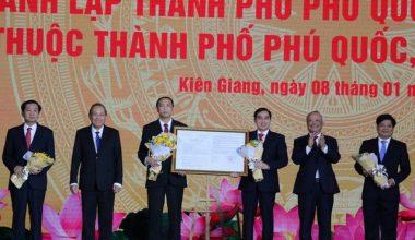 Công bố nghị quyết thành lập thành phố đảo đầu tiên của Việt Nam