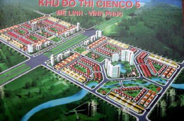 Khu đô thị Cienco 5 Mê Linh